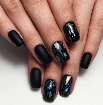 Дизайн ногтей с ромбиками фото