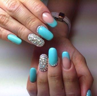 Дизайн ногтей ко дню рождения