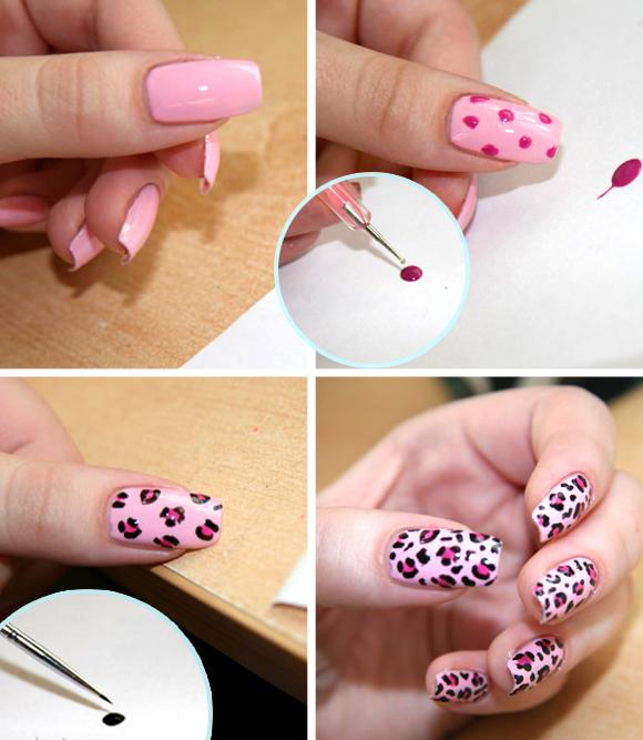 Узоры на ногтях как рисовать в домашних