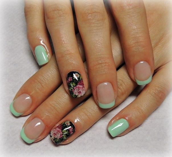 Модные рисунки на ногтях гель-лаком: фото и видео 78