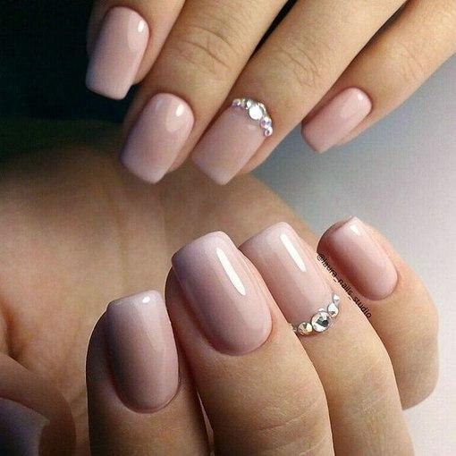 Фото гелевого покрытия на свои ногти