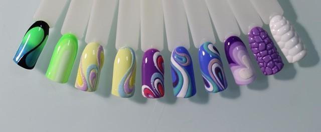 Как используют гель краски для ногтей