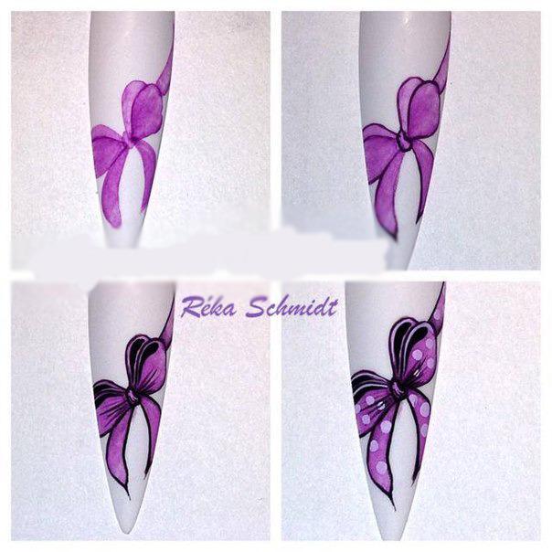 Рисунки на ногтях-флористика