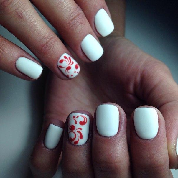 Дизайн ногтей пошагово для начинающих на коротких