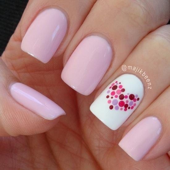 Как сделать френч на коротких ногтях гель лаком