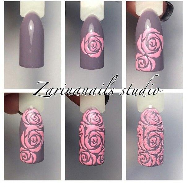 Миндалевидные Ногти Дизайн Фото