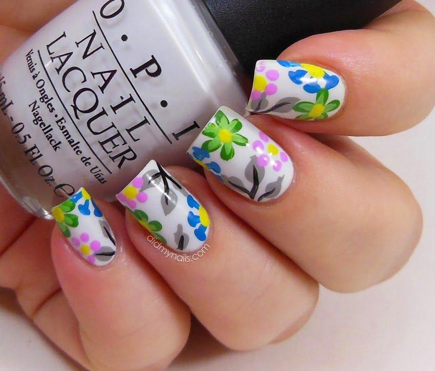 как рисовать на ногтях гель лаком