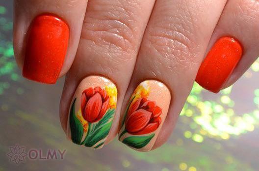 Маникюр с фруктами 2018: новые идеи дизайна ногтей