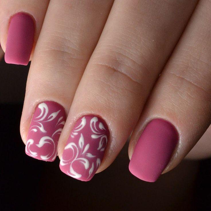 Рисунок гель лаком на ногтях пошагово