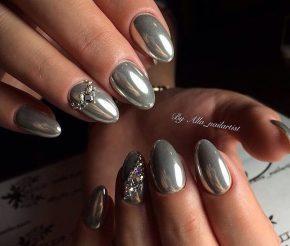 Серебряное покрытие под металл