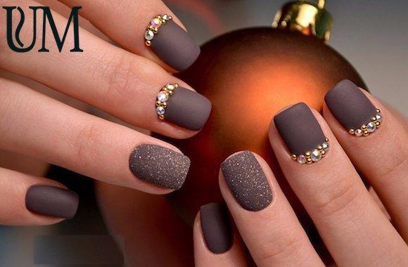 Модный дизайн ногтей гель лаком 2019 изоражения